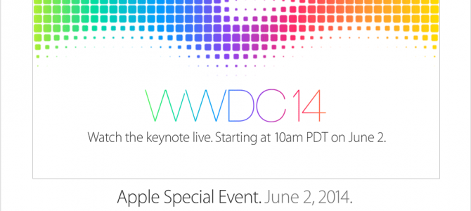 Evento Apple: WWDC 2014